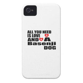 ALLER, den SIE BENÖTIGEN, IST LIEBE Basenji iPhone 4 Case-Mate Hülle