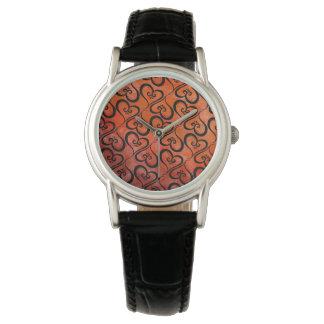 Aller Herz-Kürbis Armbanduhr