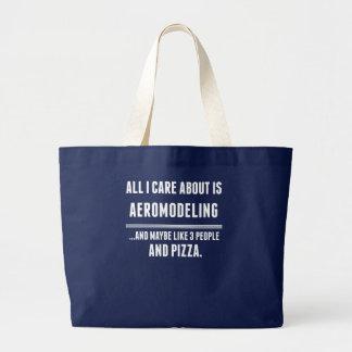 Aller i-Sorgfalt ist ungefähr Aeromodeling Sport Jumbo Stoffbeutel