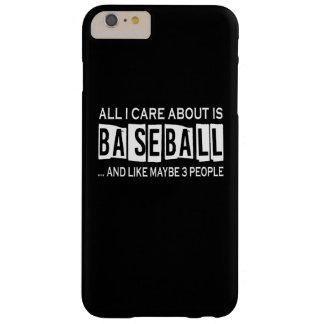 Aller i-Sorgfalt ist ungefähr Baseball Barely There iPhone 6 Plus Hülle