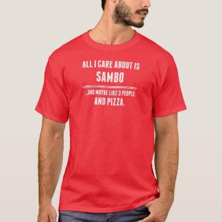 Aller i-Sorgfalt ist ungefähr Sambo-Sport T-Shirt