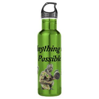 Aller von möglichem Weightlifting Trinkflasche