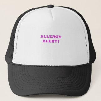 Allergie-Alarm Truckerkappe