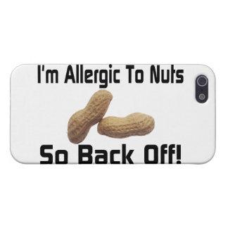 Allergisch zu den Nüssen ziehen Sie so sich zurück iPhone 5 Cover