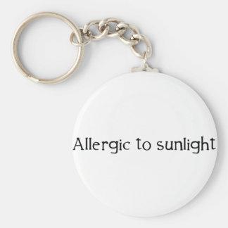 Allergisch zum Sonnenlicht Schlüsselanhänger