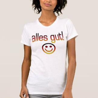 Alles Darm! Deutsche Flaggen-Farben T-Shirt