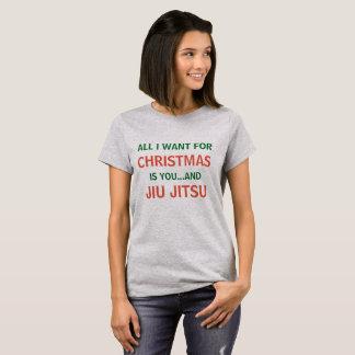 Alles, das ich für Weihnachten will, ist Jiu Jitsu T-Shirt