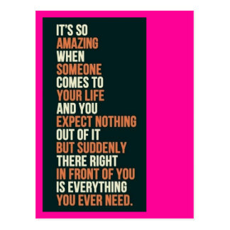 Alles, das Sie benötigen Postkarte