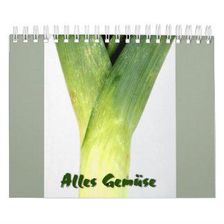 Alles Gemüse Kalender