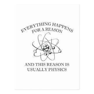 Alles geschieht aus einem Grund Postkarten