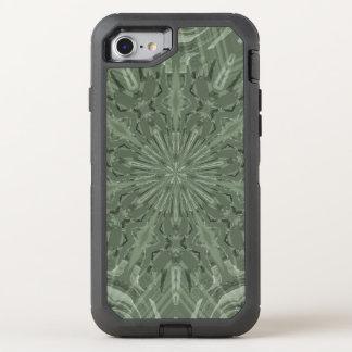 alles grüne flippige Muster OtterBox Defender iPhone 8/7 Hülle