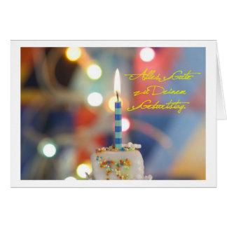 Alles Gute zu Deinem Geburtstag Grußkarte