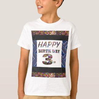 Alles- Gute zum Geburtstag3. Text T-Shirt