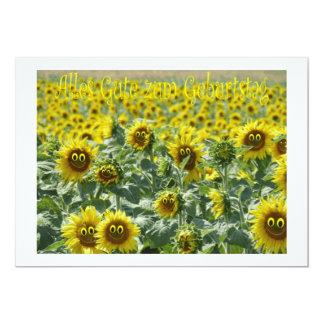 Alles Gute zum Geburtstag 2 12,7 X 17,8 Cm Einladungskarte