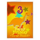 Alles Gute zum Geburtstag 3 Jahre Ihre Karte