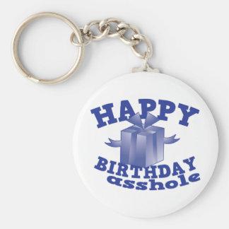 Alles Gute zum Geburtstag a ** Loch Standard Runder Schlüsselanhänger