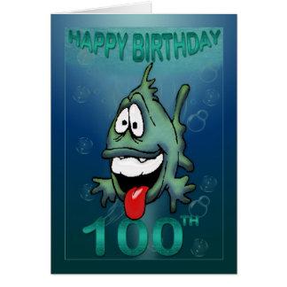 Alles Gute zum Geburtstag altert 100. Geburtstag Grußkarte