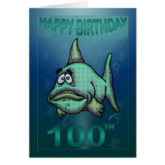 Alles Gute zum Geburtstag altert mürrische Karte