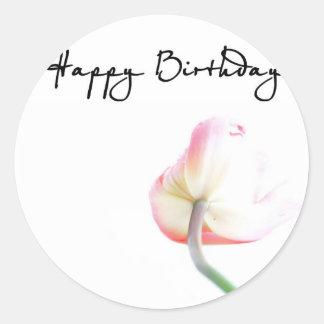 Alles Gute zum Geburtstag Runder Sticker