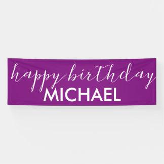 alles Gute zum Geburtstag Banner
