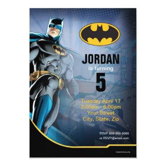 Alles Gute zum Geburtstag Batmans   12,7 X 17,8 Cm Einladungskarte