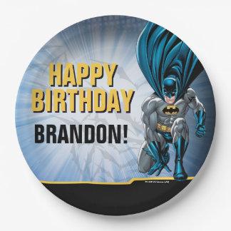 Alles Gute zum Geburtstag Batmans | Pappteller