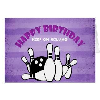 Alles Gute zum Geburtstag behalten auf Grußkarte