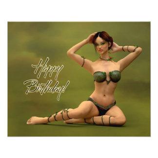 Alles Gute zum Geburtstag Bryonia Bedruckte Flyer