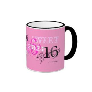 Alles Gute zum Geburtstag des Bonbon-16 für Ringer Tasse