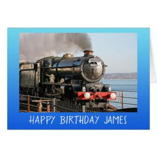 Alles Gute zum Geburtstag des Vintagen Karte