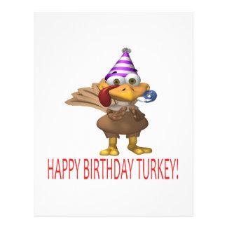 Alles Gute zum Geburtstag die Türkei 21,6 X 27,9 Cm Flyer