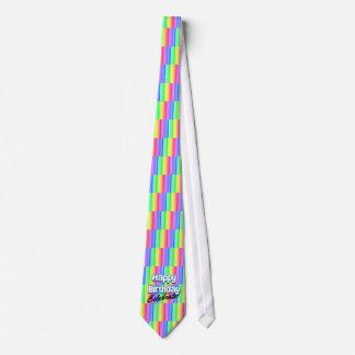 Alles Gute zum Geburtstag feiern Bedruckte Krawatte