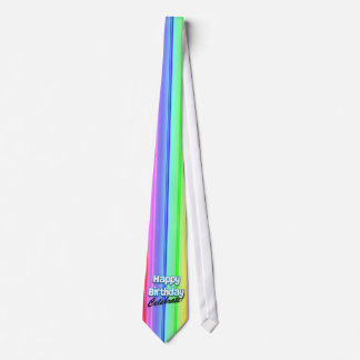 Alles Gute zum Geburtstag feiern Personalisierte Krawatten