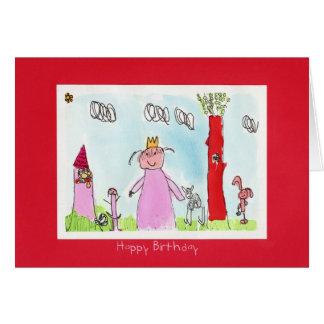 Alles Gute zum Geburtstag Freya, das Karte