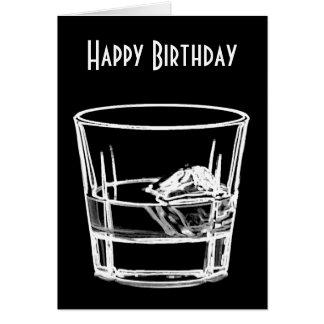 Alles Gute zum Geburtstag für Whisky-Liebhaber Grußkarte