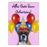 Alles Gute Zum Geburtstag! Geburtstags-Boxer-Karte