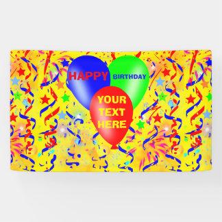 Alles Gute zum Geburtstag, Geburtstags-Party Banner