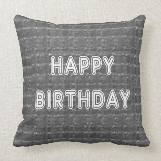 Alles Gute zum Geburtstag HappyBirthday Artistist Zierkissen