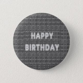 Alles Gute zum Geburtstag HappyBirthday Artistist Runder Button 5,7 Cm