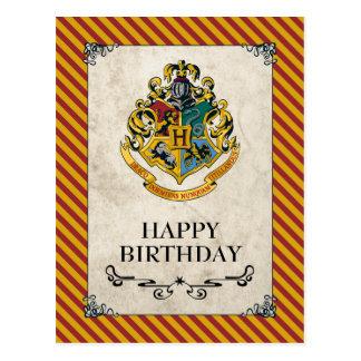 Alles Gute zum Geburtstag Harry Potters | Hogwarts Postkarte