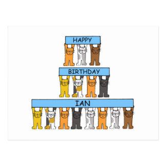 Alles Gute zum Geburtstag Ian Postkarte