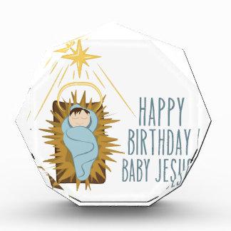 Alles Gute zum Geburtstag Jesus Acryl Auszeichnung