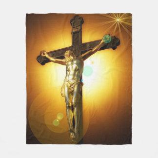 Alles Gute zum Geburtstag Jesus Fleecedecke