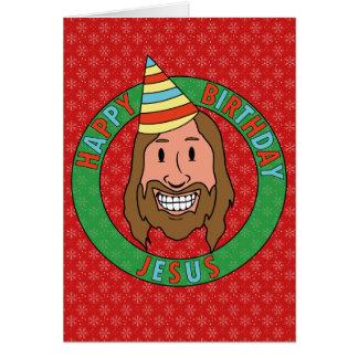 Alles Gute zum Geburtstag Jesus Grußkarte