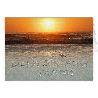 Alles Gute zum Geburtstag, Mamma! Karte