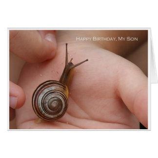 Alles Gute zum Geburtstag, mein Sohn Karte