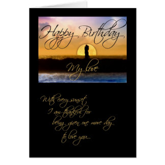 Alles Gute zum Geburtstag meine Karte