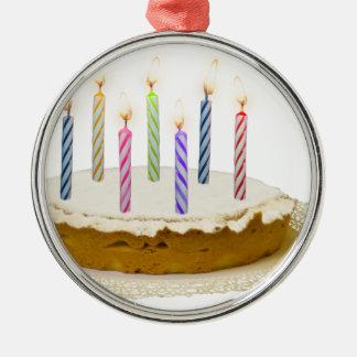 Alles Gute zum Geburtstag, meine Liebe Silbernes Ornament