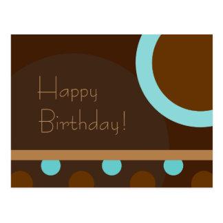 Alles Gute zum Geburtstag! Retro 103 Postkarte