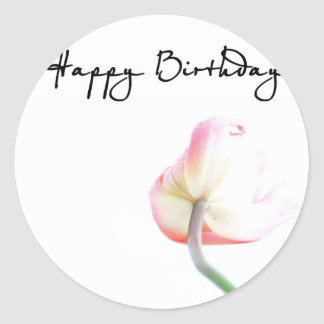 Alles Gute zum Geburtstag Runder Aufkleber